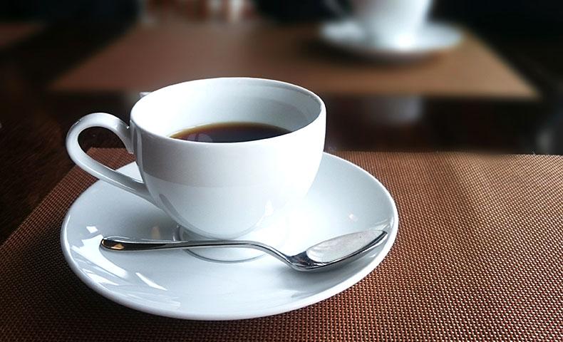 1日1食の開始初日は一杯のコーヒーからスタート。