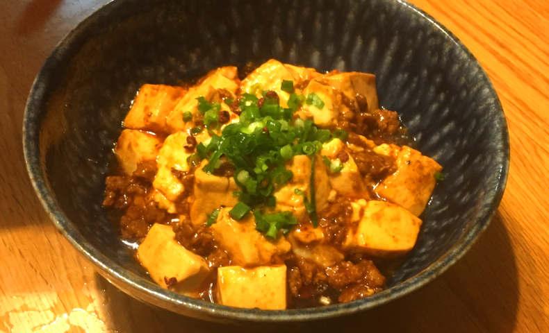 陳健一さんのレシピで麻婆豆腐を作ってみた。