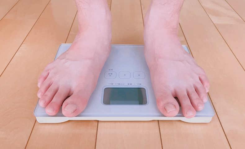 1日1食を半年続けた効果、6ヵ月間で78kgあった体重の減量効果は?