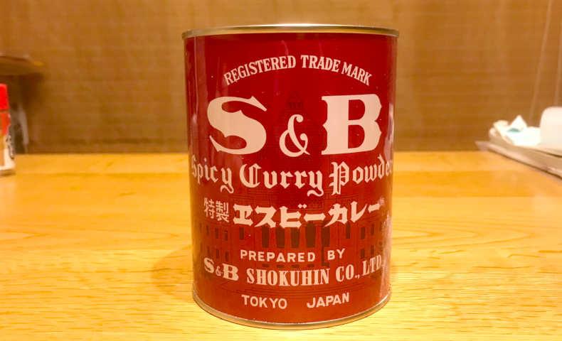 エスビーのカレー缶