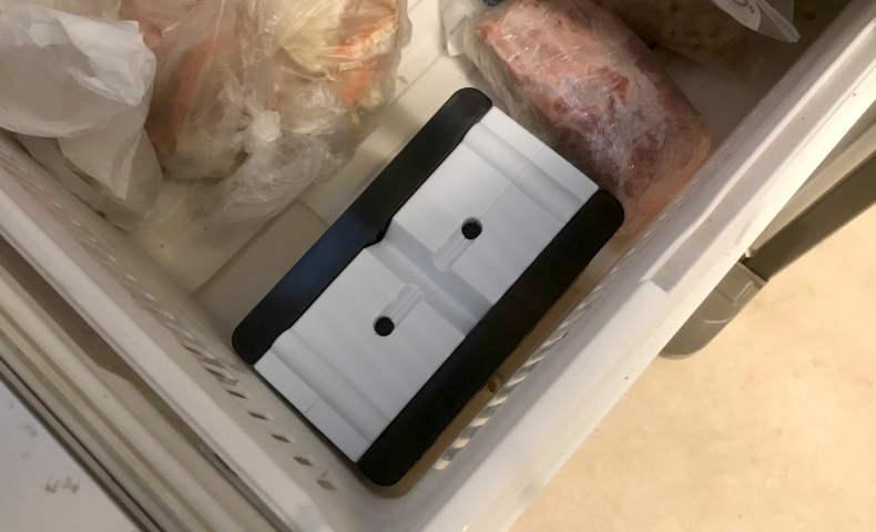 冷凍庫にスペースを確保